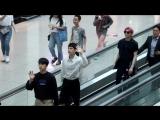 Fancam 180706 VIXX Leo, Ken, Ravi, Hyuk on Incheon Airport