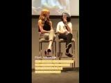 Kinetic Vibe via IG Story. 2 ITAInstituteCon2 Katherine McNamara