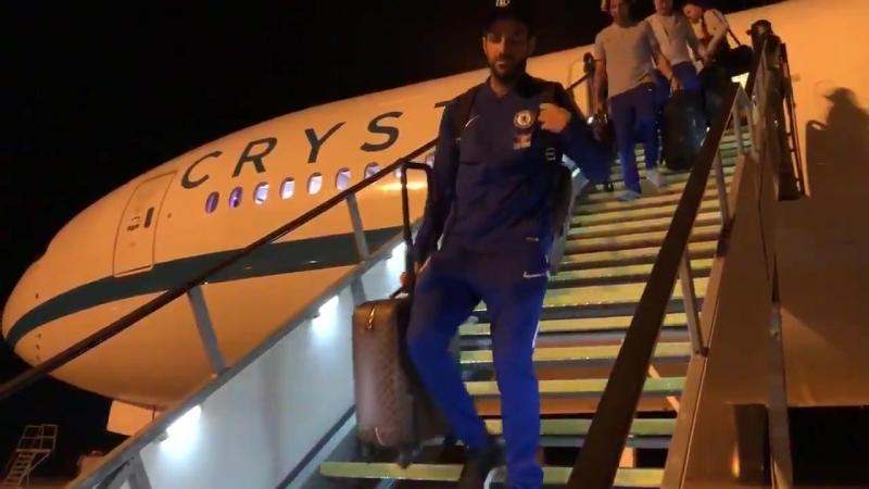 Футболисты Челси приземлились в Австралии | Pride of London