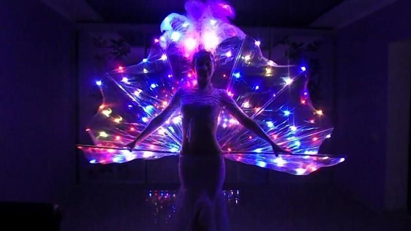 Светодиодный трансформер: цветокхвостюбка от LeDance Fashion 79264404648