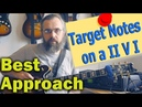 Best approach: Target notes on a II V I - Jazz Guitar Lesson