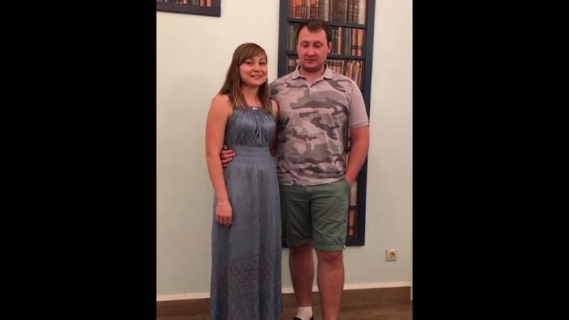видеоотзыв Крис и Жени лето2018