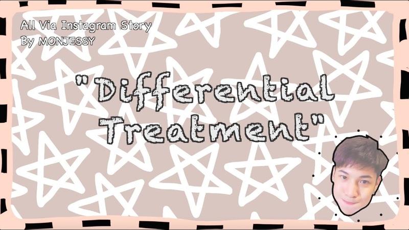 SingtoKrist | Singto's Differential Treatment