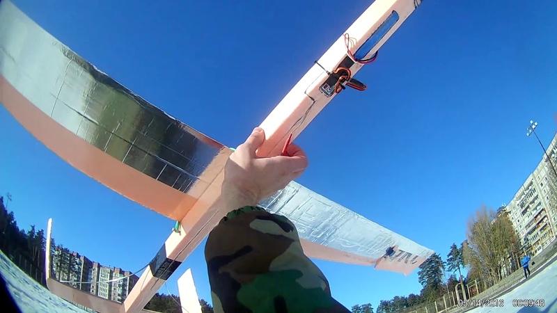 DIY large styrofoam glider with Eken H9R onboard - Maiden flight Part 2.