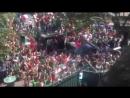 Мексиканские болельщики устроили праздник у посольства Южной Кореи