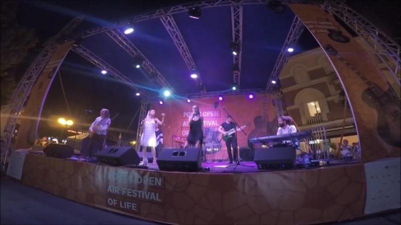 Porec, Croatia: Концерт ABBA (Пореч, Хорватия)