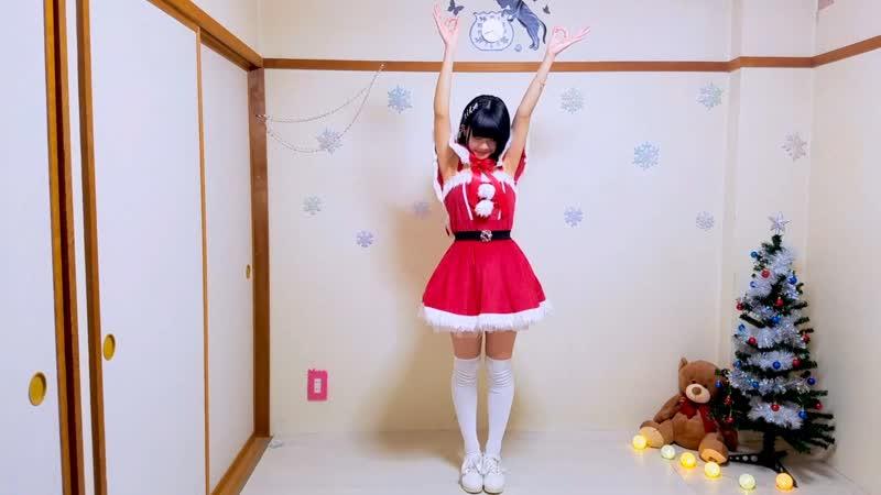 【月野奈月】メルティングスノウマンズラブソング 踊ってみた【サンタさん】 sm34323813