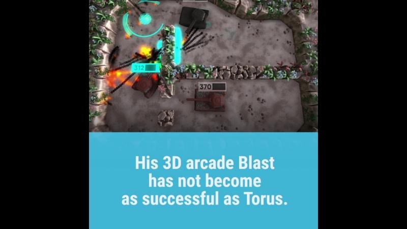 Игру 16-летнего разработчика-самоучки скачали 100 тысяч раз.