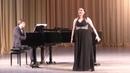 Анна Козачёк Финал камерного отделения XI Международного конкурса молодых оперных певцов