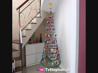 Новогодняя DIY. Как сделать елку Своими руками