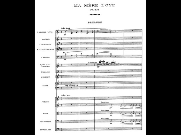 Maurice Ravel - Ma mère loye (Ballet) [With score]