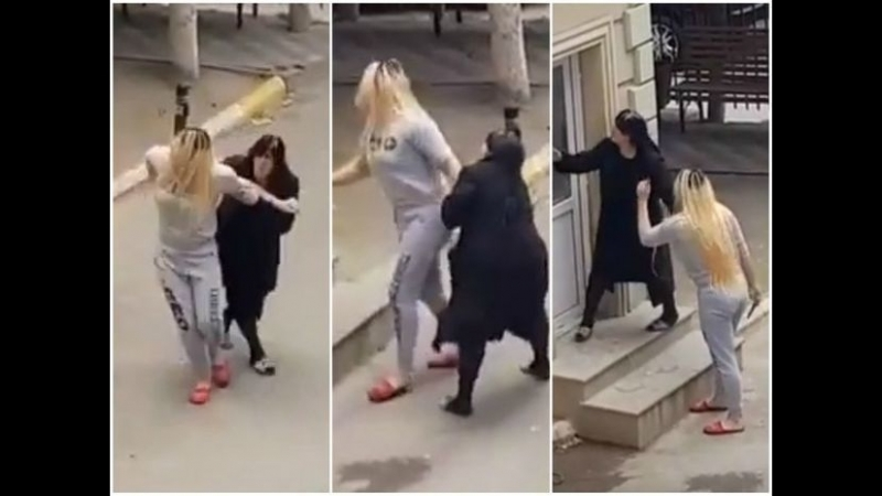 В Баку транссексуал напал на коменданта с ножом-ВИДЕО (18) Азербайджан Azerbaijan Azerbaycan БАКУ BAKU BAKI Карабах HD YENI HD