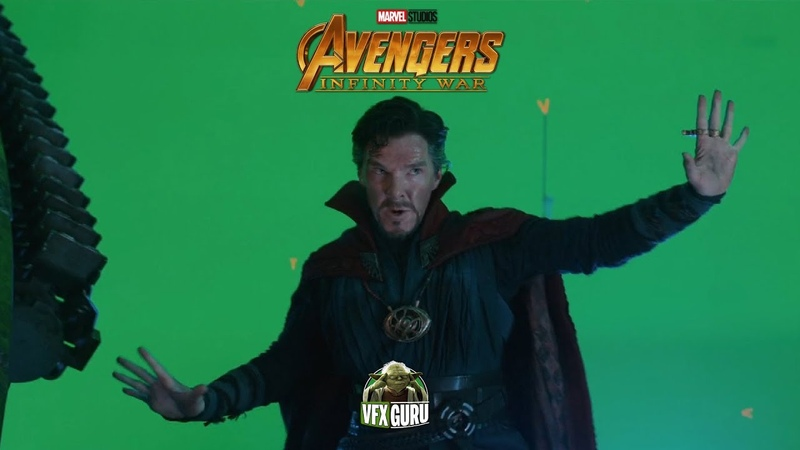 Avengers: Infinity War (2018) - VFX Breakdown - By Cinesite Studios⠀