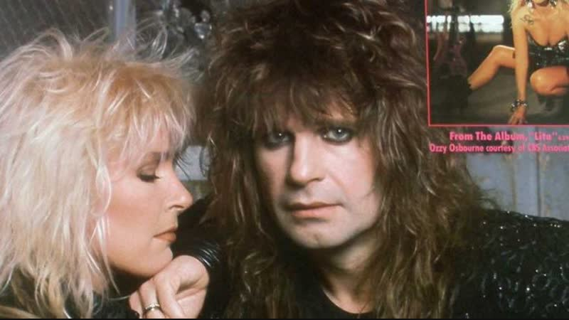 Ozzy Osbourne Lita Ford - Close My Eyes Forever