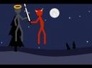 бой ангел и демон