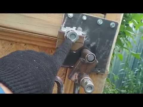 Арматурогиб для стройки, без подшипников и токаркиRebar for construction