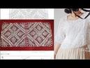 Соединение мотивов для блузы крючком Лили