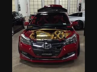 Tuning honda accord turbo coupe