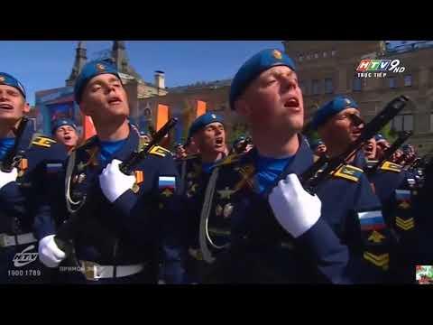 1328. Tường thuật trực tiếp Lễ Diễu binh mừng Chiến thắng Phát xít ngày 9/5/2018 của Nga