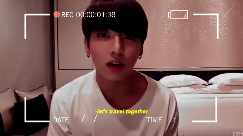 Jungkook bf travel au ~I like me better~
