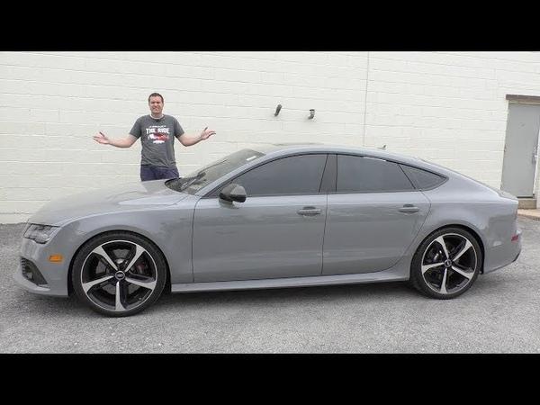 Подержанная Audi RS7 это выгодная покупка за полцены