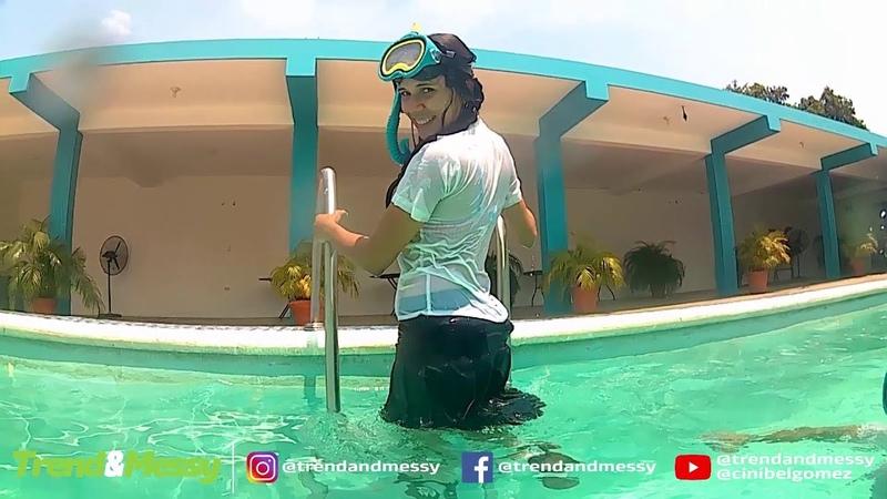 Cini and Maga -Funn in the pool