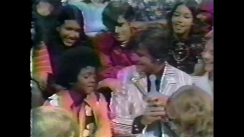 Michael Jackson American Bandstand 1972 год