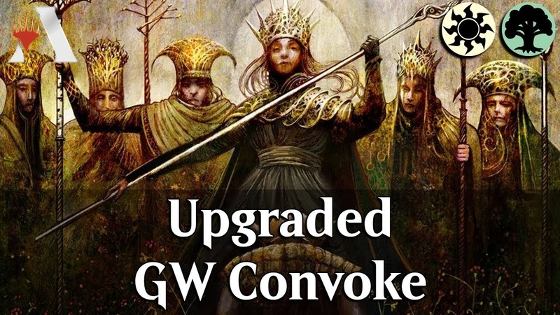 MTG Arena GRN Selesnya Convoke Upgraded DeckTech Gameplay Idol