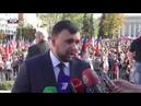Для нас как никогда важно единение, сплочение в обществе, - врио Главы ДНР Денис Пушилин