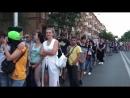 Очередь в фан-зону на просмотр матча г.Ростов-на-Дону