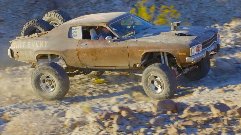 Mad Maxxis Off-Road Runner: 4x4 Muscle Car Desert Chase - Dirt Every Day Ep. 47