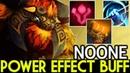 NOONE [Earthshaker] Power Effect Buff Superman 7.19 Dota 2