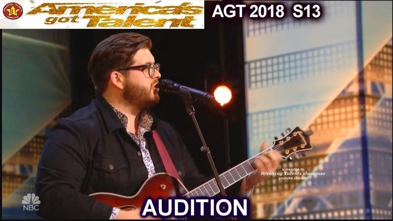 Noah Guthrie Glee Alum Love On The Brain HE KILLED IT America's Got Talent 2018 Audition AGT