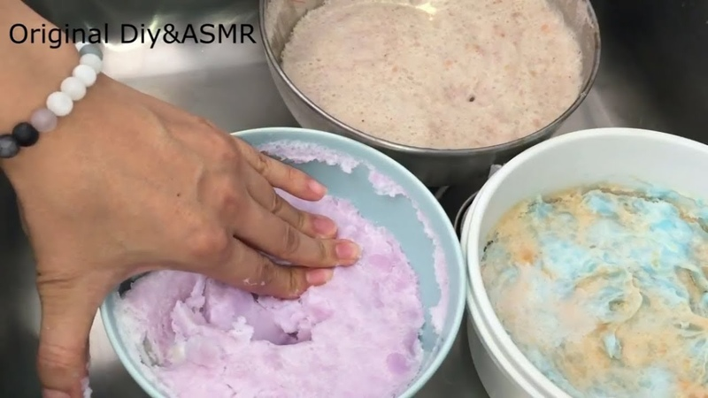 Making Recycled Soap With Mushy Soap - ASMR - ACMP - Relaxing Video