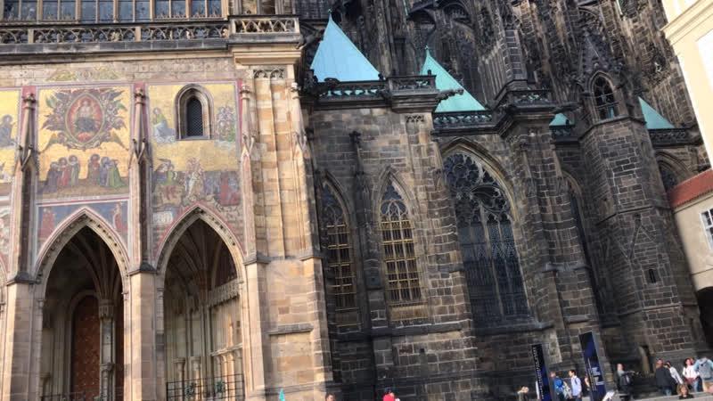 Прага. Собор Святого Вита (снаружи)