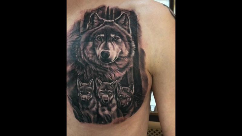 Tattoo by Iliya Astafiev