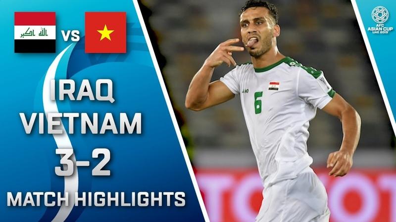 🇮🇶 IRAQ - VIETNAM 🇻🇳 - 32 | MATCH HIGHLIGHTS | MATCH-8 | 08.01.2019 AsianCup2019