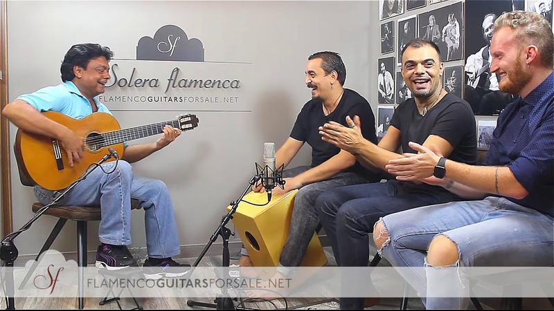 FELIPE MAYA Jerónimo Maya, Pepe Fernández, José Tobalo: por bulerias in SOLERA FLAMENCA