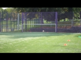 Individual Winger Training _ Three Individual Training Drills To Become A Better Winger