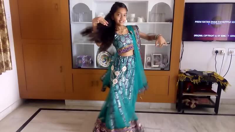 Prem ratan dhan payo dance from vaibhavi patel