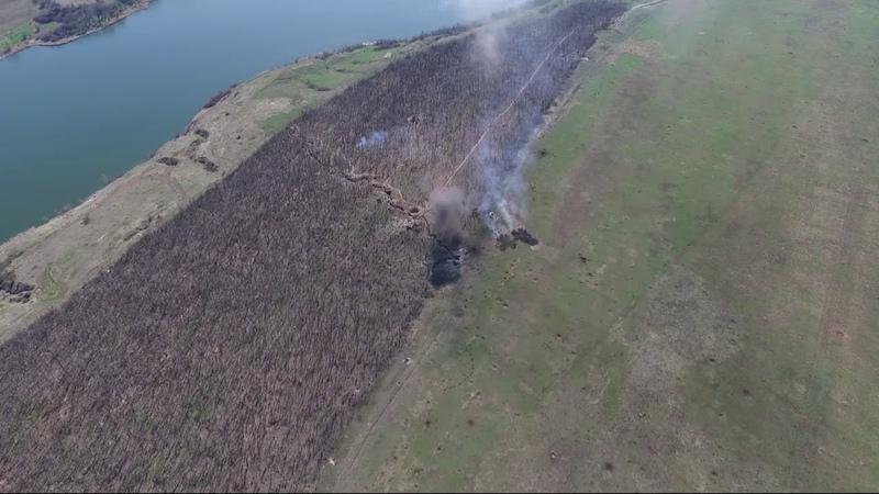 Уничтожение позиции Прыщ на Светлодаркой дуге группой К-2 54-й бригады при помощи 25-го батальона