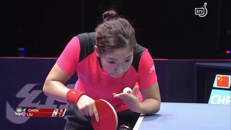 Cheng Meng vs Liu Shiwen | 2018 Korea Open Highlights (1/2)