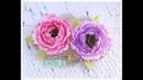 Silk Foam Peony Flower with Lady E Design Die