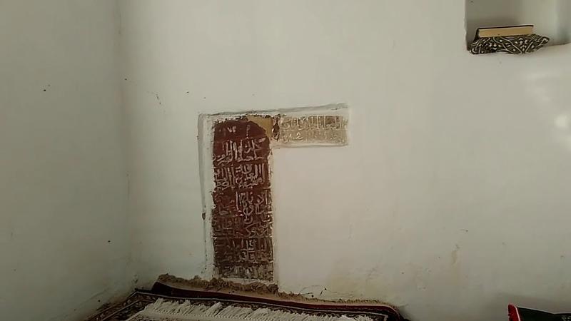 2 Внутри мавзолея шейха Магомеда Ярагского, октябрь 2018, Согратль | туризм в Дагестане