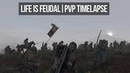 Life is Feudal MMO | PVP Timelapse 5