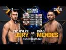 UFC FN 133 Myles Jury VS Chad Mendes