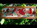 Алмазная вышивка «Розы». Оформление алмазной картины. Diamond embroidery Roses .