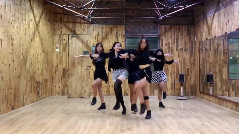 CRUSH Weki Meki 위키미키 Dance Cover from Vietnam Practice Room Version