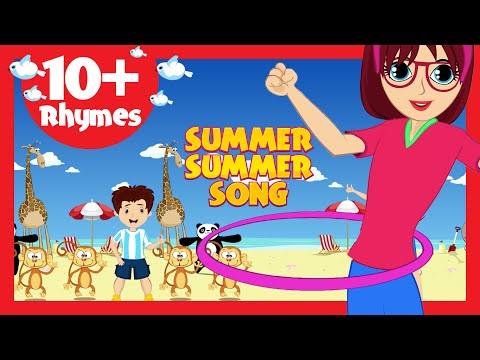 Summer Summer Song (10 Rhymes) - Kids Poems In English