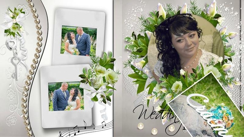 С годовщиной свадьбы фотопрезентация из фотографий клиента